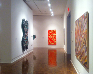 "A short slide show ""tour"" of selected paintings from the exhibition."